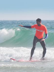 aula de surf privada