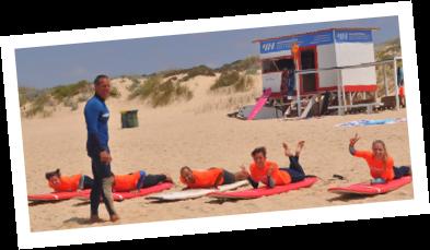 aula de surf de grupo em lisboa