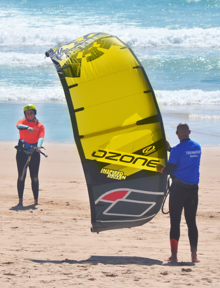 aula de kitesurf privada na waves4life