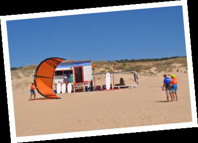 vem ter aulas e aprender kitesurf na waves4life