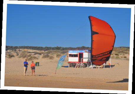 aulas de kitesurf na Waves4Life