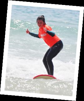 vem aprender e ter aulas de surf na waves4life