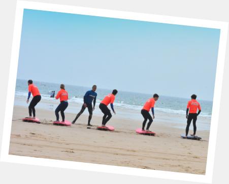 antes de alugar tenha aulas de surf