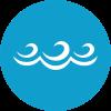 mar seguro para a pratica de desportos náuticos