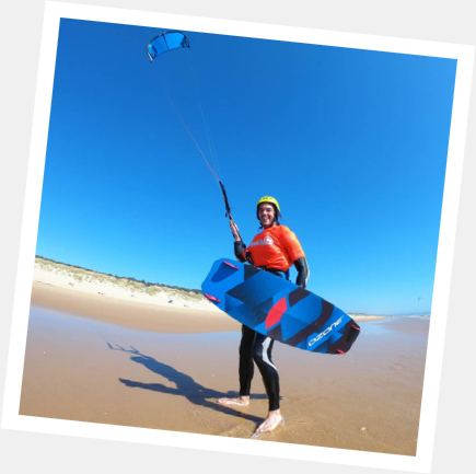 aulas com os melhores kitesurfista de portugal
